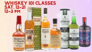 Whisk(e)y 101 Classes @ Water Street Wines & Spirits